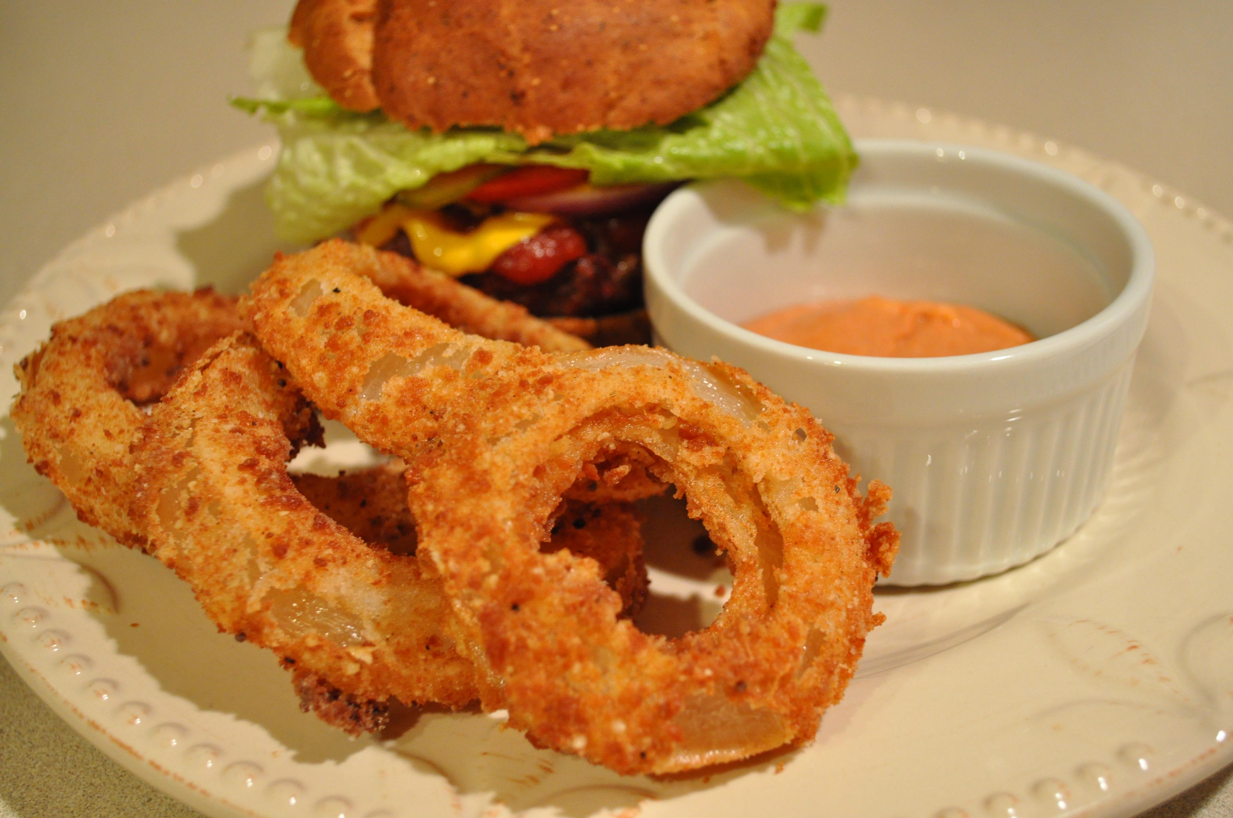 Gluten Free Onion Rings | gluten free zen