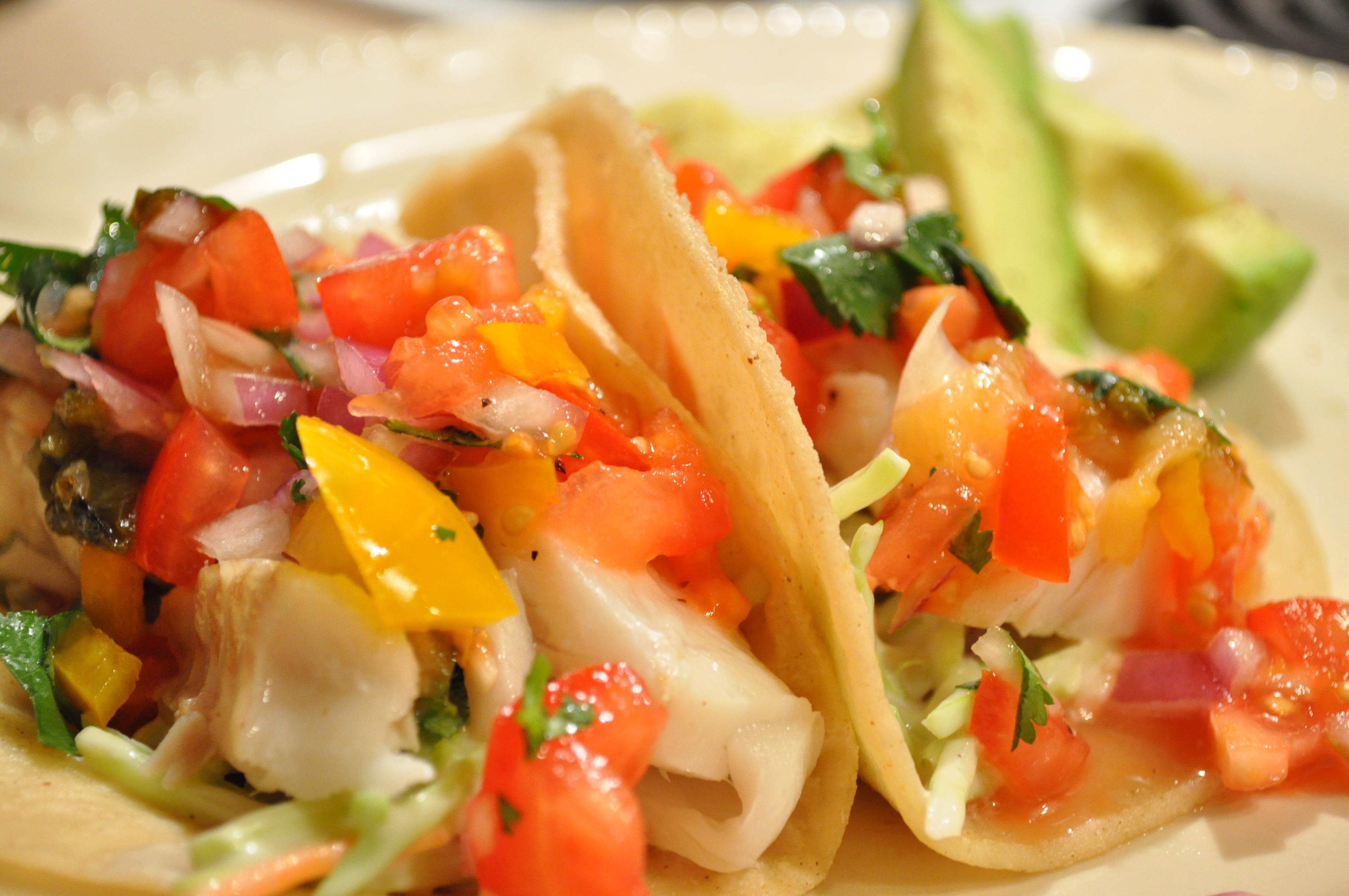Fish tacos gluten free zen for How do you make fish tacos