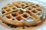 Blueberry Chocolate Chip Waffles