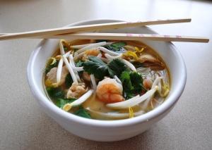 Chicken & Shrimp Noodle Soup