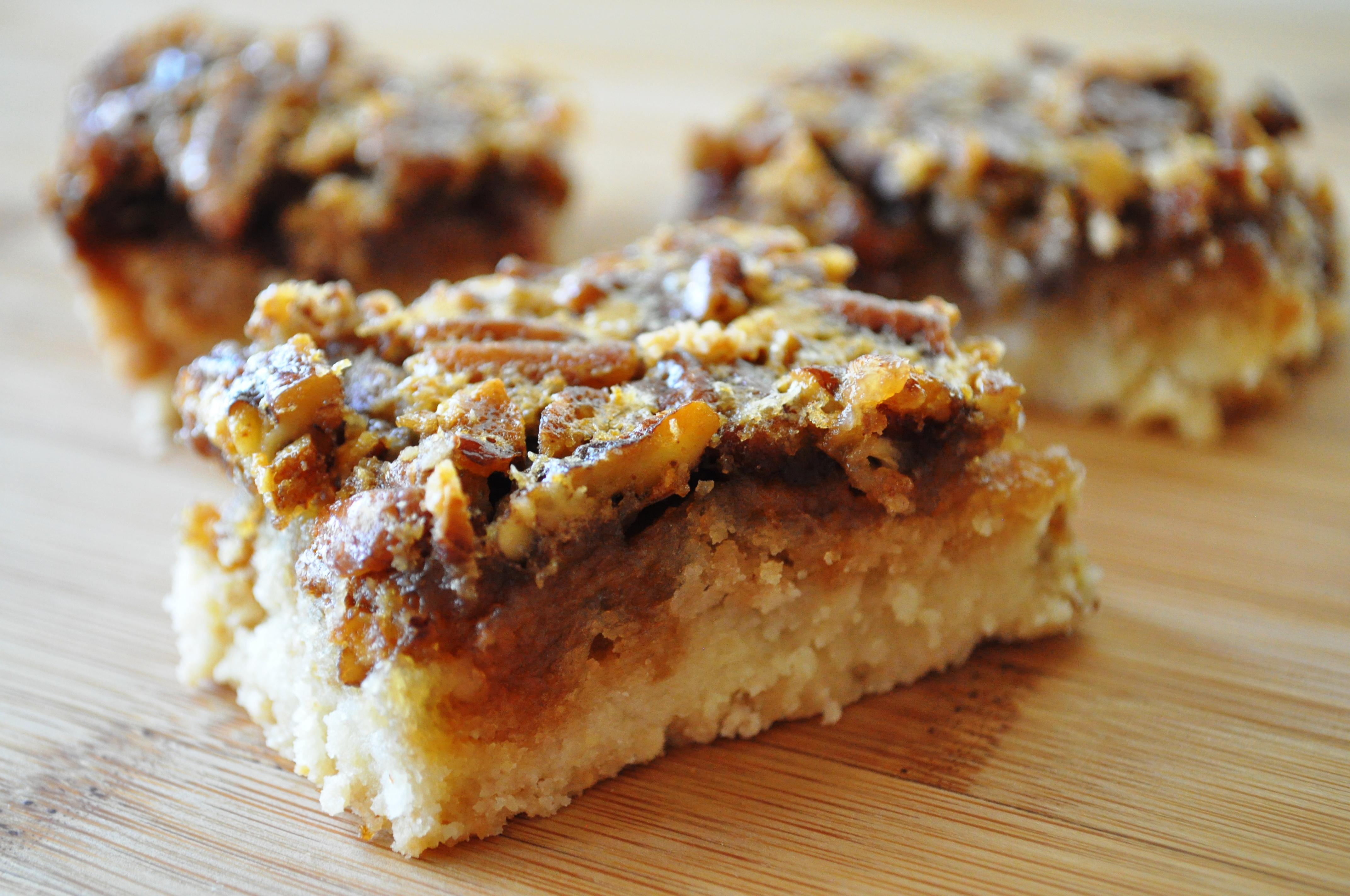 Pecan Pie Bars | gluten free zen