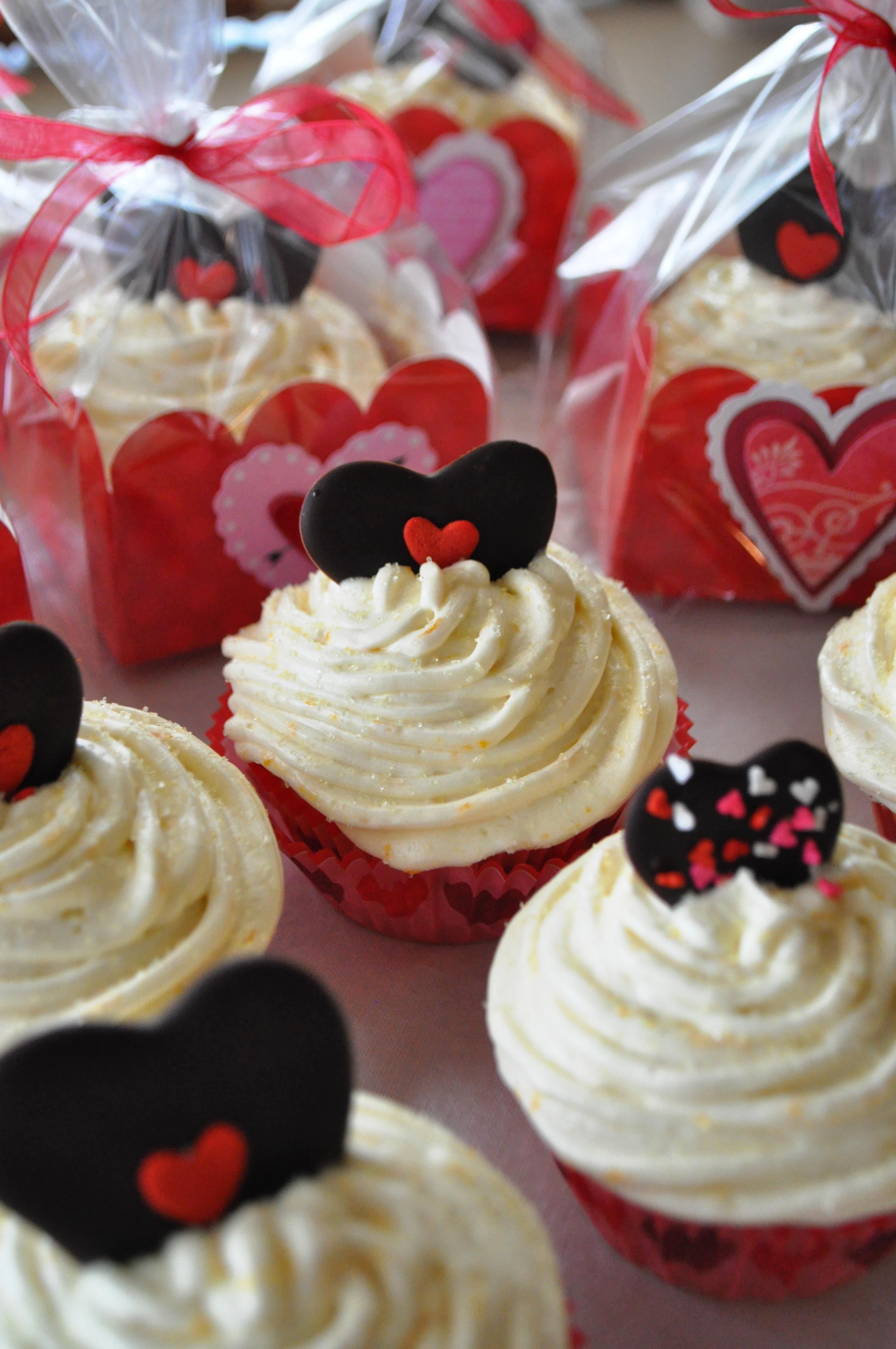 Buttercream On Cupcakes
