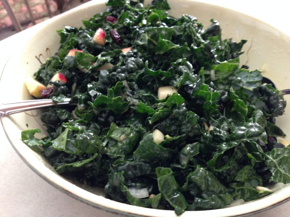 Alycia Marie's Famous Kale Salad