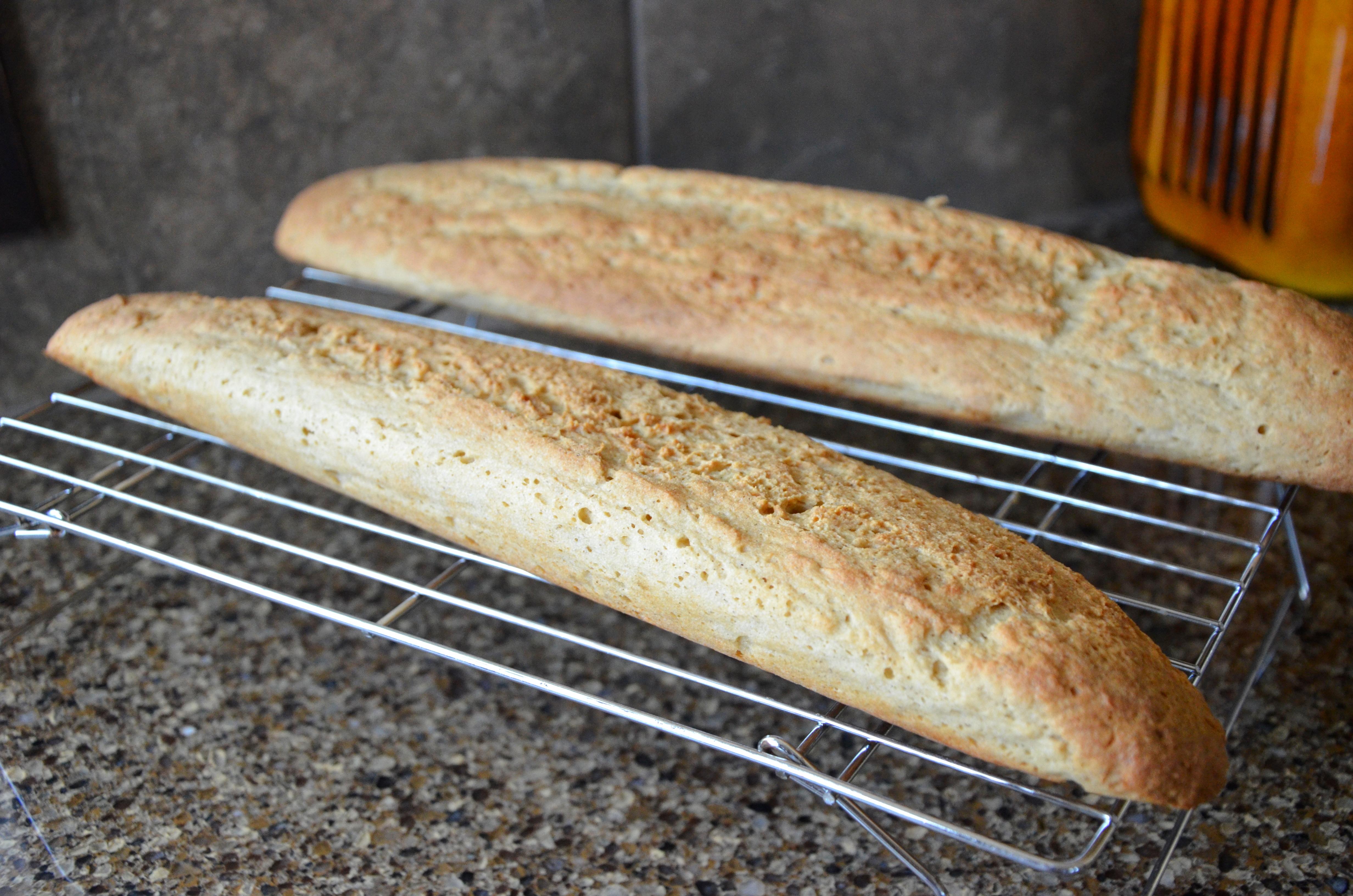 Almond Flour French Bread | gluten free zen