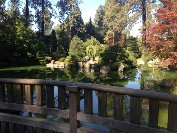 The Japanese Gardens symbolize a friendship between our home town and Nishinomiya Japan.