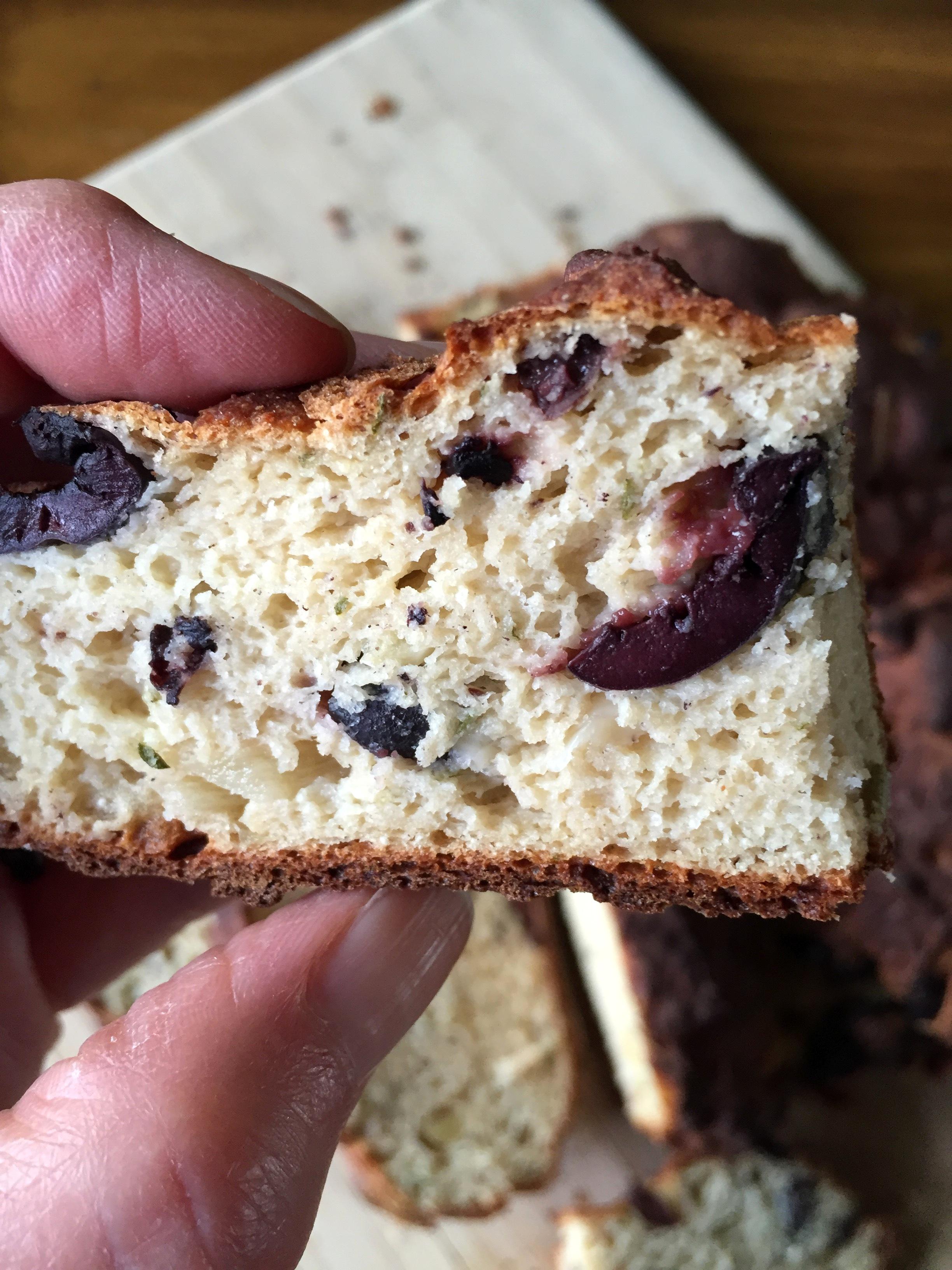 Grain Free ~ Garlic & Kalamata Olive Bread – gluten free zen